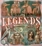 Charles M. Ware, EGYPTIAN LEGENDS, 1979, painting on masonite